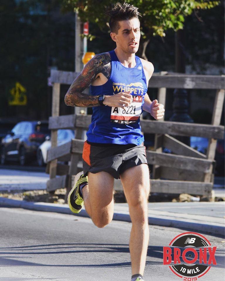 Joe Running Pic
